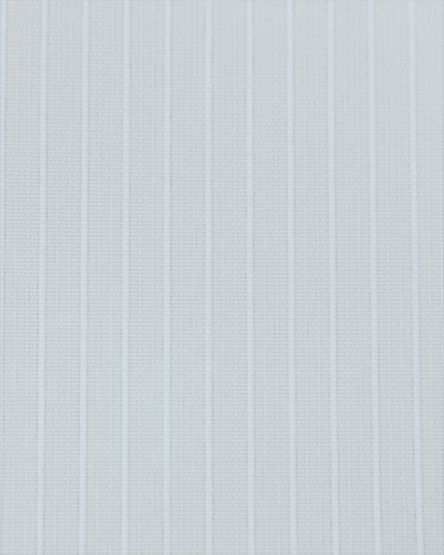 Candy Stripe White Vertical Blinds